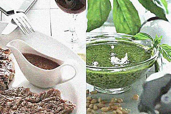 Соусы к первым и вторым блюдам